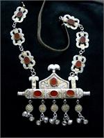 Turkmen Tribal Jewelry