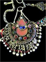 Vintage Afghan Kuchi tribal jewelry