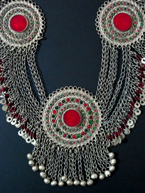 tribal jewelry necklace from afghanistan