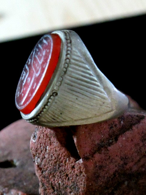 Vintage Aqeeq Yamani Men S Traditional Ring