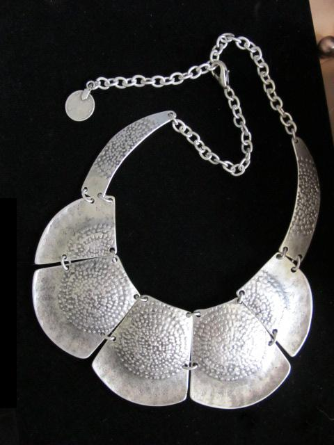 Big necklace silver images big necklace silver images turkish tribal jewelry necklace stunning unusual handcrafted piece jpg aloadofball Image collections