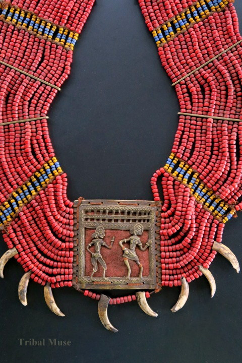 Colorful Multi-strand Naga Tribal Jewelry Necklace |Naga Jewelry