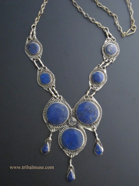 blue beaded online buy jaypore com lazuli at necklace lapis