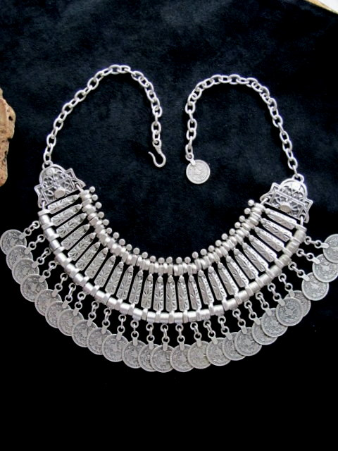 Turkish Jewelry Spirited Dance Necklace With Coins