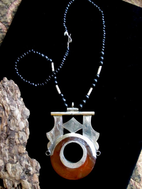 Tuareg jewelry handcrafted african vintage tuareg necklace tuareg jewelry vintage necklace mozeypictures Images