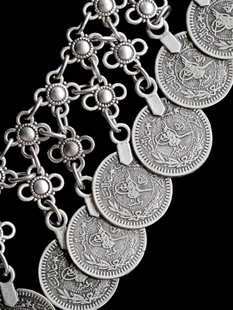 Turkish Jewelry Gyspy Necklace With Coins
