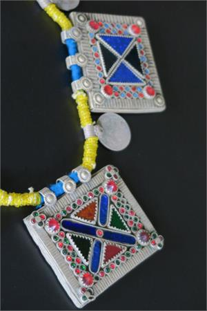 Afghan jewelry necklace