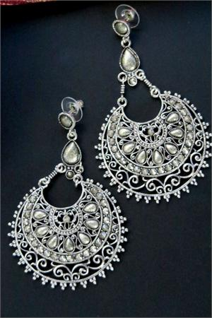 Ethnic Earrings With Tribal Styling