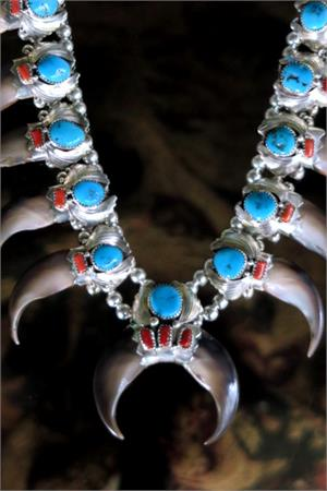 Navajo Claw Necklace