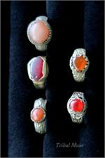 Set of 5 Kuchi Rings