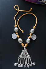 Tribal jewelry necklace