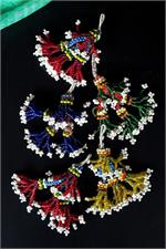Afghan beaded tassels