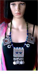 Vintage Afghan Necklace