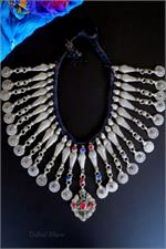 Kuchi tribal fish necklace