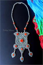 Bukhara Silver Necklace