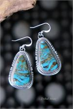 Large Navajo Earrings
