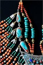 Turquoise and coral links