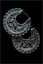 Contemporary ethnic earrings