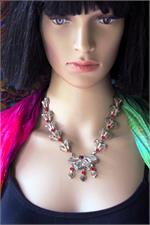 Old necklace on manikin