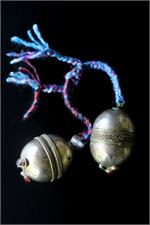 Kuchi tribal bells PAIR