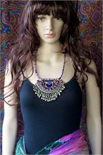 Fusion necklace on manikin