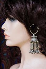 Jhumki tribal earrings