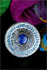 Large Afghan Lapis Ring