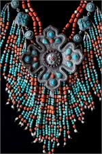 Large Tibetan necklace