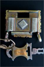 Tuareg lock and key