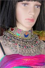 Kuchi tribal choker