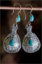 Water-pitcher earrings