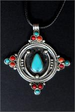 Contemporary Tibetan necklace