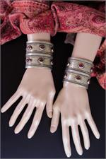 Pair Turkoman cuffs