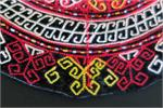 Close up Turkoman collar