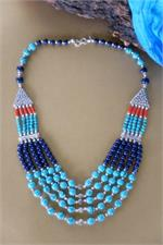 Tibetan tribal style necklace