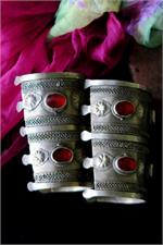 Turkoman cuffs side view
