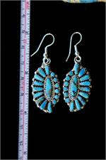 Zuni Earrings with Ruler