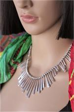 Ethnic necklace on manikin
