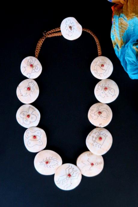 Naga Necklace Shell Pendant India 128477