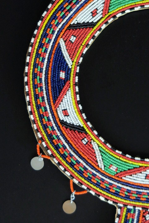 Large Maasai Tribal Jewelry Wedding Necklace From Kenya Africa