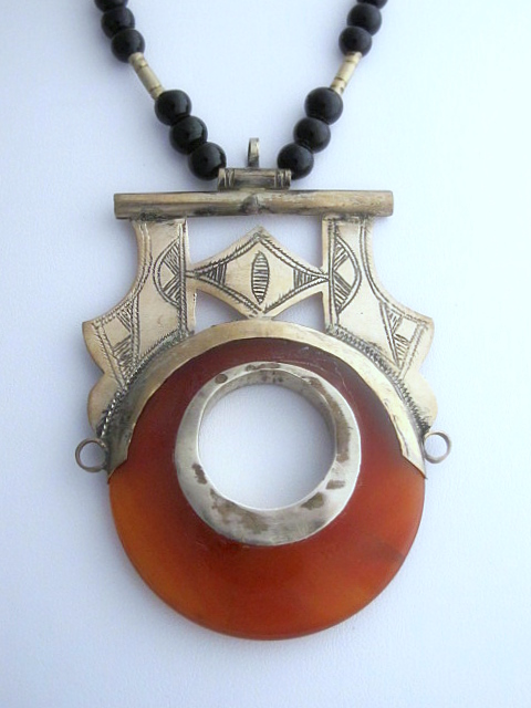 Tuareg Jewelry Handcrafted African Vintage Tuareg Necklace