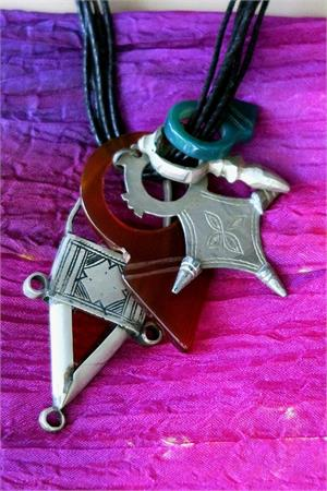 Multiple of Tuareg pendants
