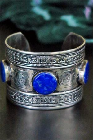 Lapis Afghan jewelry