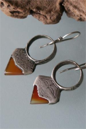 Old Tuareg earrings