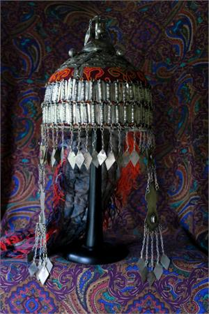 Ornate Turkoman headdress