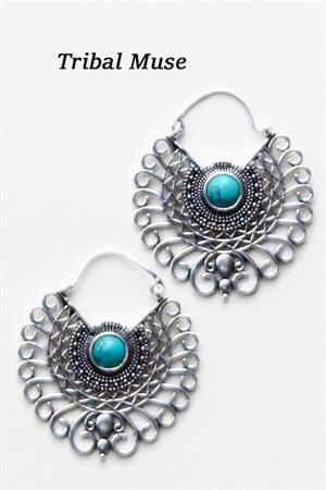 with Turquoise Stones