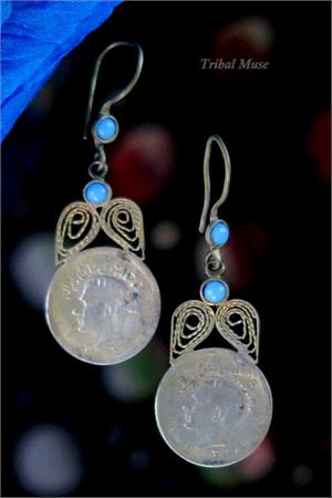 Tribal Jewelry Coin Dangles