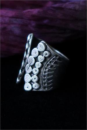 Turkish tribal jewelry ring