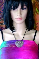 Tuareg necklace on manikin