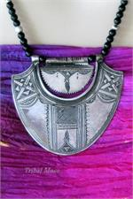 Old Tuareg pendant necklace